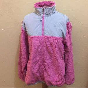 The North Fave fuzzy jacket XL